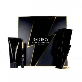 Carolina Herrera Bad Boy Coffret Eau de Toilette 100ml + Shower Gel 100ml + Mini Eau de Toilette 10m