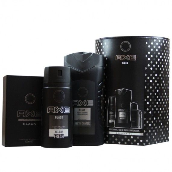 Axe Black Deo Spray 150ml + Shower Gel 250ml + After Shave 100ml