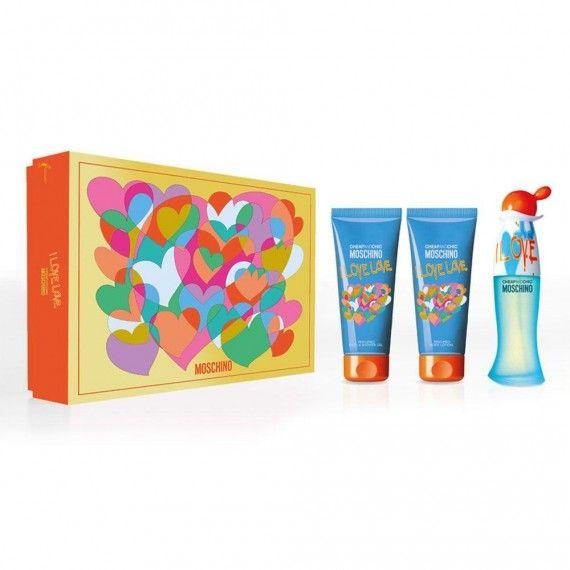 Moschino Cheap & Chic I Love Love Coffret Eau de Toilette 50ml + Body Lotion 100ml + Shower Gel 100m