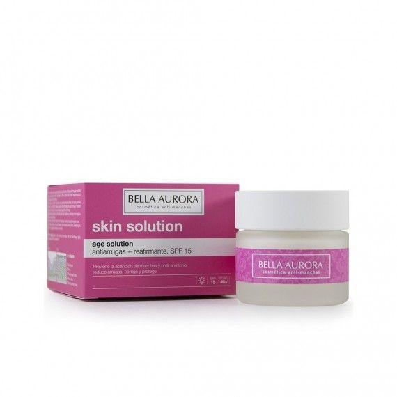 Bella Aurora Age Solution - Creme Facial Anti-Rugas Reafirmante SPF15