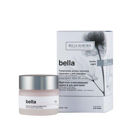 Bella Aurora Bella Tratamento de Noite Anti-Idade e Anti-Manchas - Creme Facial Reparador de Noite