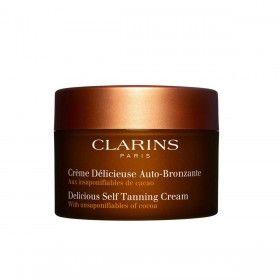 Clarins Crème Délicieuse Auto-Bronzante - Creme Autobronzeador para Corpo e Rosto
