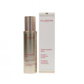 Clarins Nutri-Lumière Jour Emulsion - Emulsão Facial Hidratante e Revitalizante em Óleo Leve de Dia