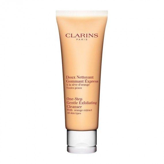 Clarins One-Step Gentle Exfoliating Cleanser - Limpeza e Esfoliação Facial para Todos os Tipos de Pe