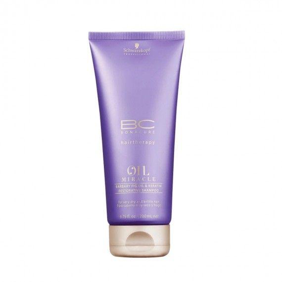 Schwarzkopf Professional Bonacure Oil Miracle Barbary Fig Oil & Keratin - Shampoo para Cabelos Muito