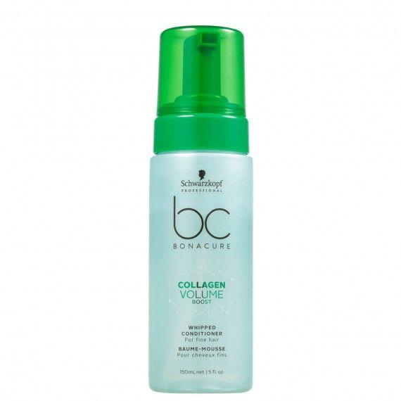 Schwarzkopf Professional Bonacure Collagen Volume Boost - Espuma Condicionadora em Spray para Cabelo