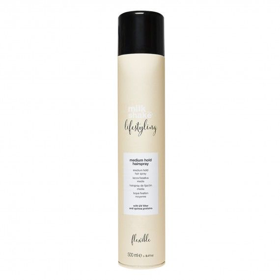 Milk_Shake Lifestyling Medium Hold Hairspray - Spray de Fixação Média