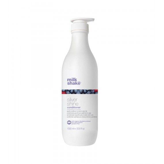 Milk_Shake Silver Shine Conditioner - Condicionador Neutralizante de Tons Amarelos, Dourados ou Gris