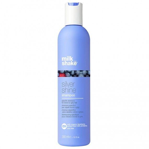 Milk_Shake Silver Shine Shampoo - Shampoo Específico para Cabelos Loiros ou Grisalhos