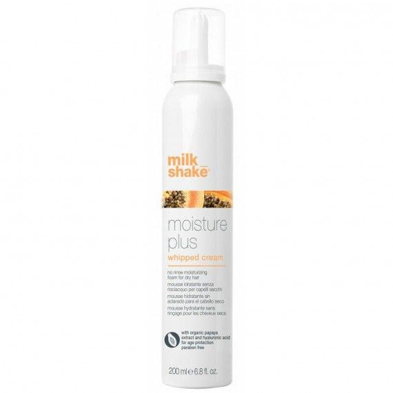 Milk_Shake Moisture Plus Whipped Cream - Espuma Hidratante para Cabelos Secos