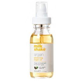 Milk_Shake Argan Glistening Argan Oil - Tratamento com Óleo de Argan para Todo o Tipo de Cabelos