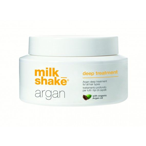 Milk_Shake Argan Deep Treatment - Fórmula Nutritiva para Tratamento Capilar Intensivo