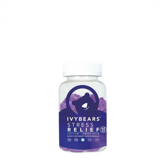 Ivy Bears Stress Relief - Suplemento Vitamínico para Alívio de Stress e Equilíbrio do Sono