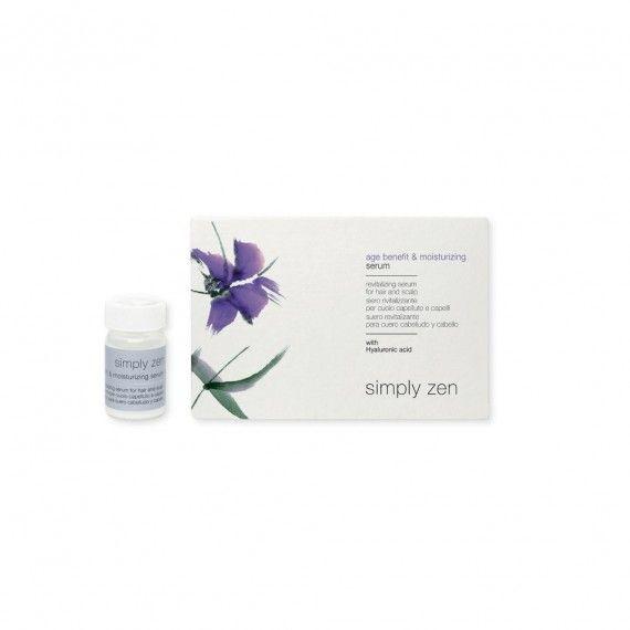 Simply Zen Age Benefit & Moisturizing Serum - Sérum Revitalizante para o Cabelo e Couro Cabeludo 12x
