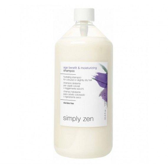 Simply Zen Age Benefit & Moisturizing Shampoo - Shampoo Hidratante para Cabelo com Coloração ou Lige