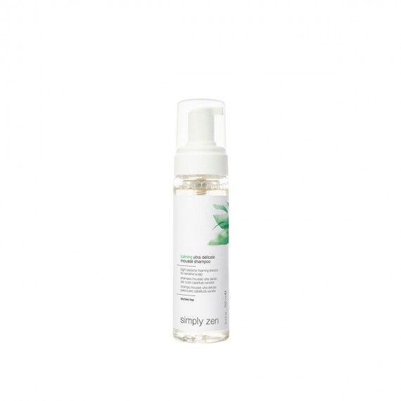 Simply Zen Calming Ultra Delicate Mousse Shampoo - Shampoo Mousse de Alta Tolerância para Couro Cabe
