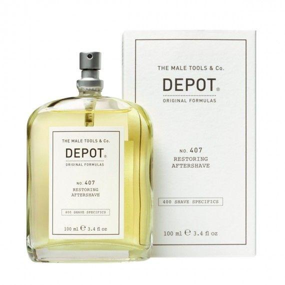 Depot Nº407 Restoring Aftershave - After Shave Refrescante e Tonificante em Loção