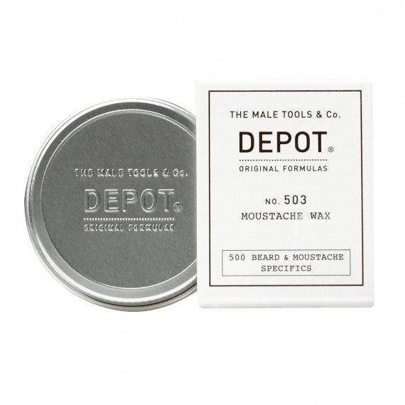 Depot Nº503 Moustache Wax - Cera Modeladora e de Fixação para Bigode