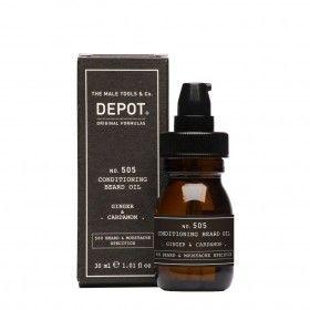 Depot Nº505 Conditioning Beard Oil Ginger & Cardamon - Óleo Condicionador da Barba