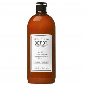 Depot Nº102 Anti-Dandruff & Sebum Control Shampoo - Shampoo Anti-Caspa & Controlo de Oleosidade para