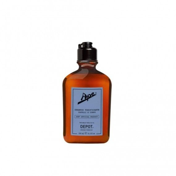 Depot Ape Shampoo Tonificante e Refrescante para Cabelo e Corpo