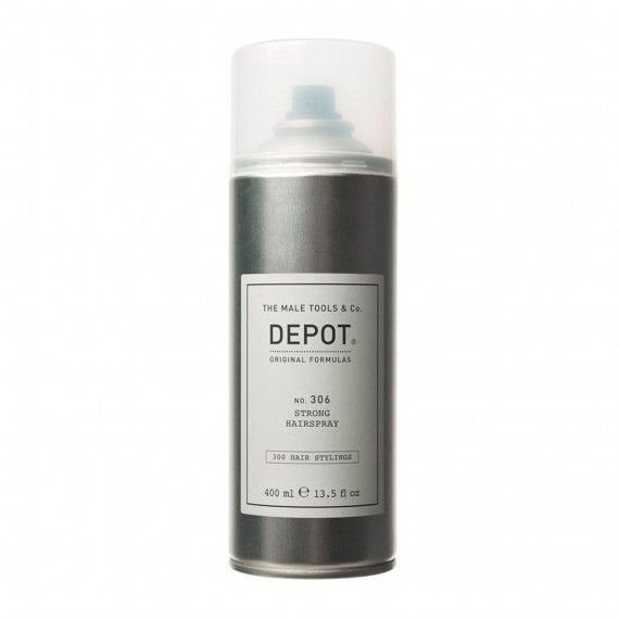 Depot Nº306 Strong Hairspray - Spray Volumizante de Fixação Forte