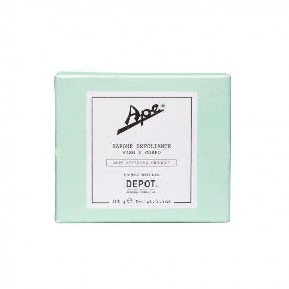 Depot Ape Sapone Esfoliante Viso e Corpo - Sabonete Esfoliante para Rosto e Corpo