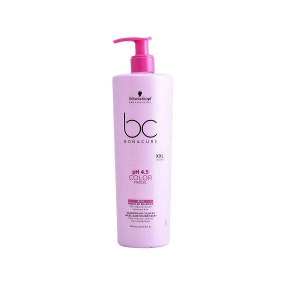 Schwarzkopf Professional Bonacure PH4.5 Color Freeze - Shampoo Micelar para Cabelos Pintados