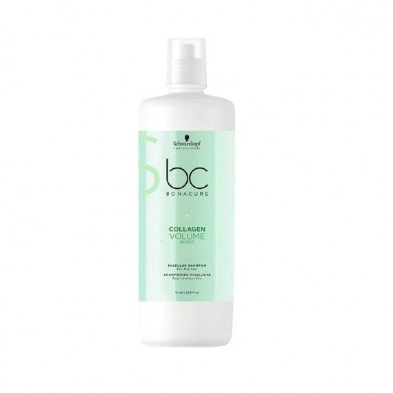 Schwarzkopf Professional Bonacure Collagen Volume Boost - Shampoo Micelar para Cabelos Finos