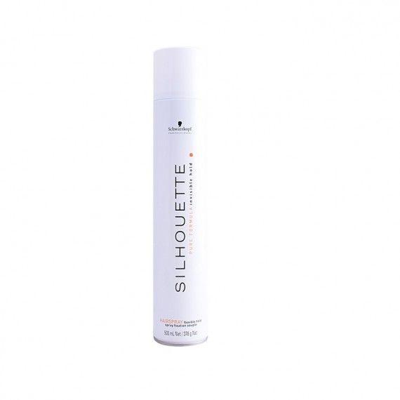Schwarzkopf Professional Silhouette Pure Formula Invisible Hold Hair Spray - Spray de Fixação Suave