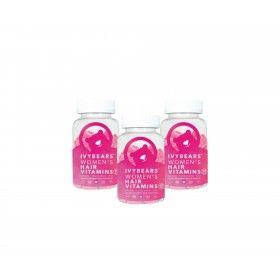 Pack 3 Ivy Bears Women's Hair Vitamins