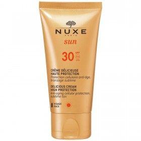 Nuxe Sun Crème Délicieuse - Protetor Solar Facial em Creme SPF30