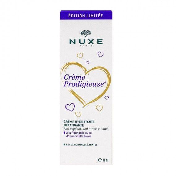 Nuxe Crème Prodigieuse - Creme Hidratante Antifadiga para Peles Normais a Mistas