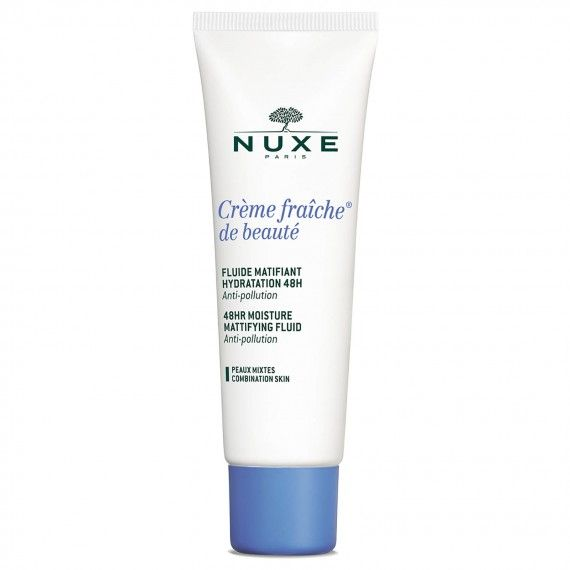 Nuxe Crème Fraîche de Beauté - Fluído Matificante de Hidratação 48h para Peles Mistas