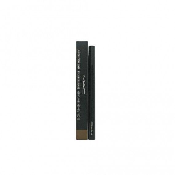 MAC Brushstroke Liner Brushbrown - Eyeliner Líquido Castanho