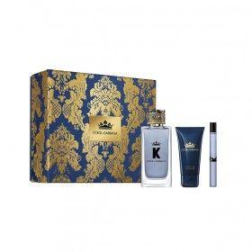 Dolce & Gabbana King Men Coffret Eau de Toilette 100ml + Shower Gel 50ml + Mini Eau de Toilette 10ml
