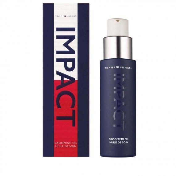 Tommy Hilfiger Impact Grooming Oil - Óleo de Limpeza para Rosto e Barba