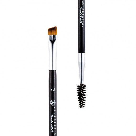 Anastasia Beverly Hills Brush 7B Dual-Ended Angled Brush - Pincel para Sobrancelhas