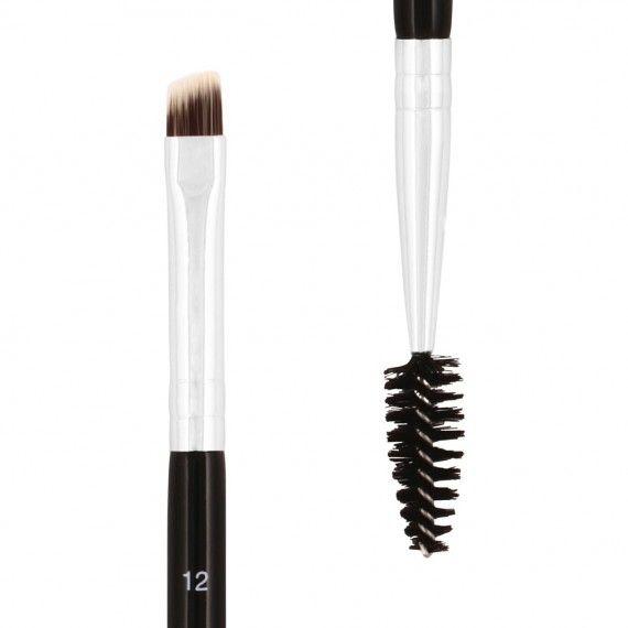 Anastasia Beverly Hills Brush 12 Dual-Ended Firm Angled Brush - Pincel para Sobrancelhas
