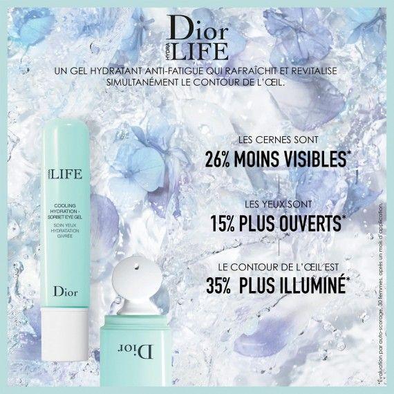 Dior Hydra Life Cooling Hydration - Gel Hidratante para Contorno de Olhos