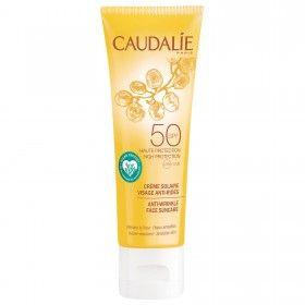 Caudalie Anti-Wrinkle Face Suncare Lotion SPF50 - Proteção Solar Facial Anti-Rugas