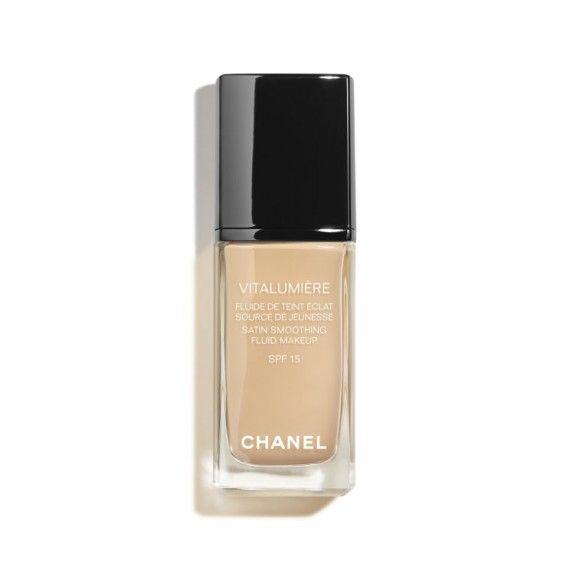 Chanel Vitalumière Satin SPF15 Base Líquida de Luminosidade