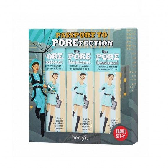 Benefit Coffret Passport To POREfection - Primer Facial para Poros 3x22ml