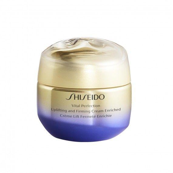 Shiseido Vital Perfection Creme Facial Reafirmante Anti-Envelhecimento para Peles Secas