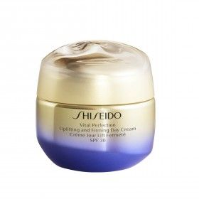 Shiseido Vital Perfection Creme de Dia Facial Reafirmante Anti-Envelhecimento SPF30