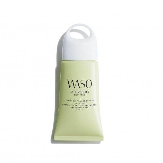 Shiseido WASO Creme de Dia Hidratante com Cor Oil Free SPF30