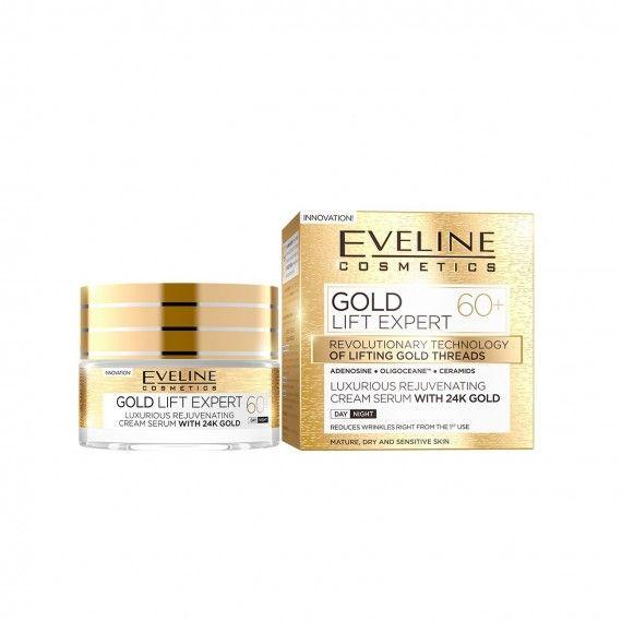 Eveline Cosmetics Gold Lift Expert Creme Rejuvenescedor Anti-Rugas 60+