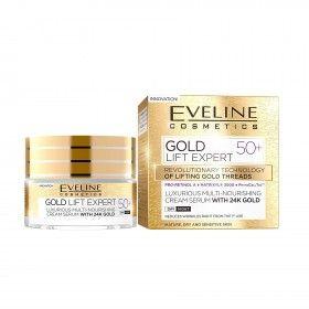 Eveline Cosmetics Gold Lift Expert Creme Multi-Nutritivo Anti-Rugas 50+