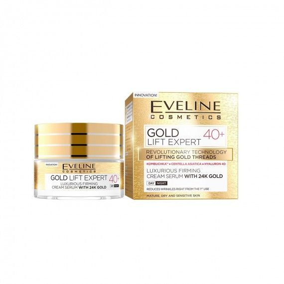 Eveline Cosmetics Gold Lift Expert Creme de Firmeza Anti-Rugas 40+