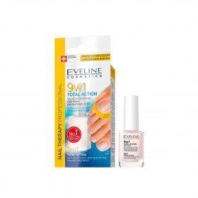 Eveline Cosmetics Nail Therapy Verniz de Tratamento para Unhas Total Ação 9 em 1